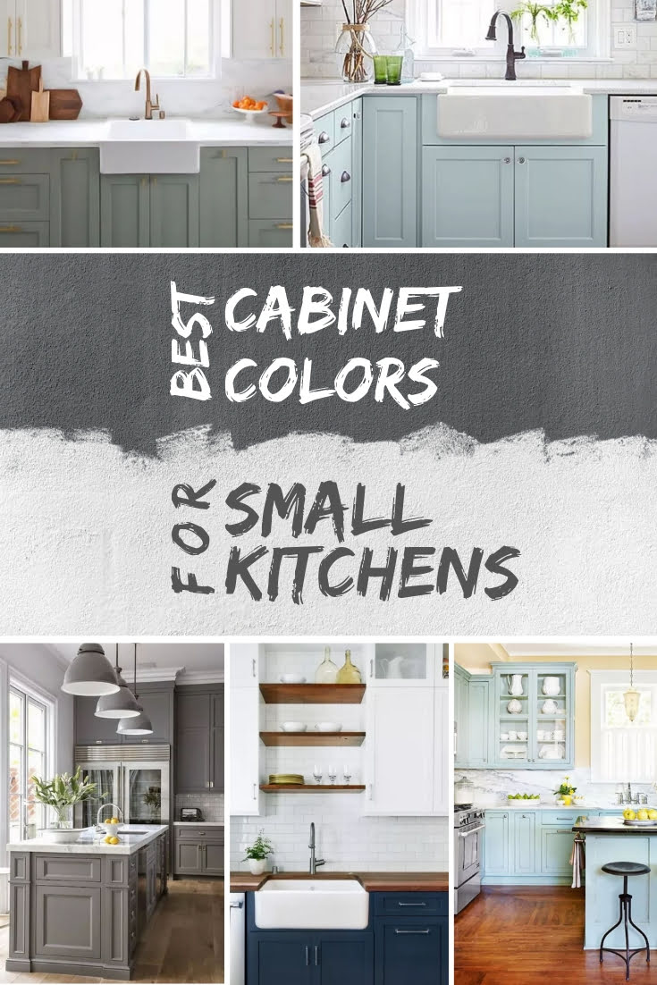 Popular Kitchen Cabinet Colors Best Kitchen Cabinet Colors For Small Kitchens With Pictures