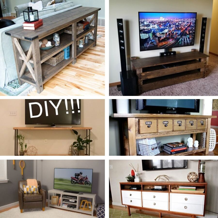 41 Diy Tv Stand And Media Console Ideas