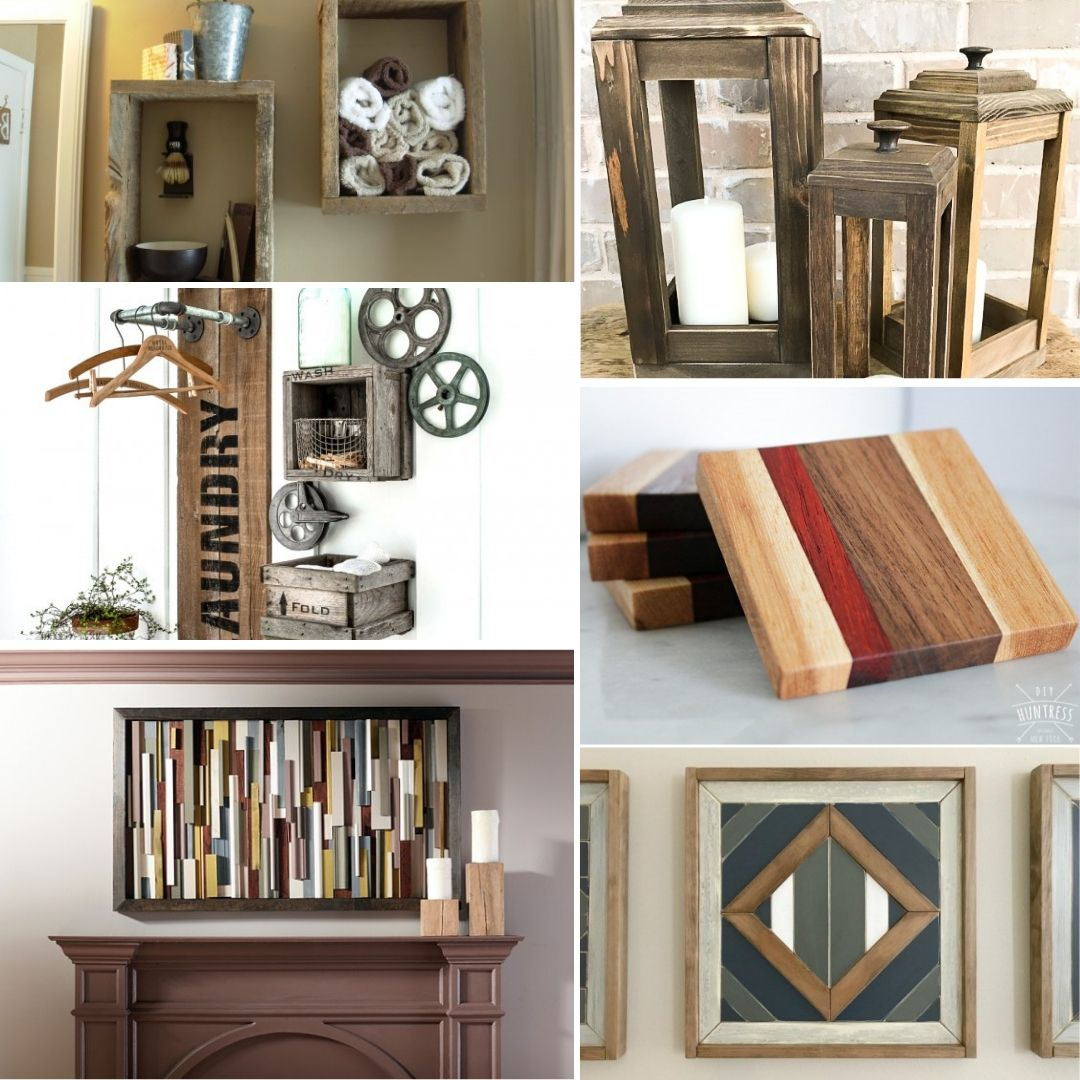 59 Nifty Diy Scrap Wood Projects For Thrifty Home Decor