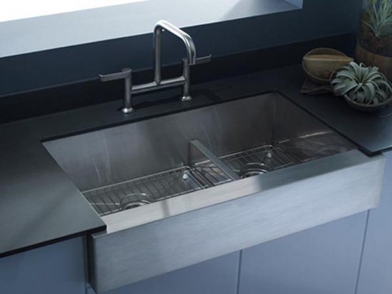 The New Apron Front Kitchen Sinks By Kohler 3d