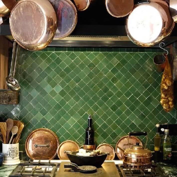 kitchen fabulous moroccan tile backsplash varying greens backsplash tile