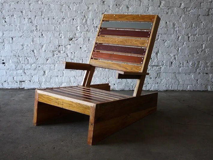 How To Make An Adirondack Chair From Scrap Wood Homejelly