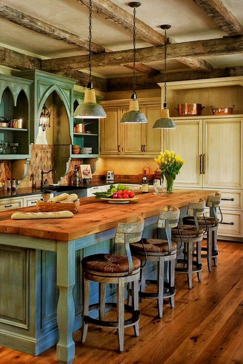 25 Stress Free Rustic Kitchen Ideas All Are Marvellous