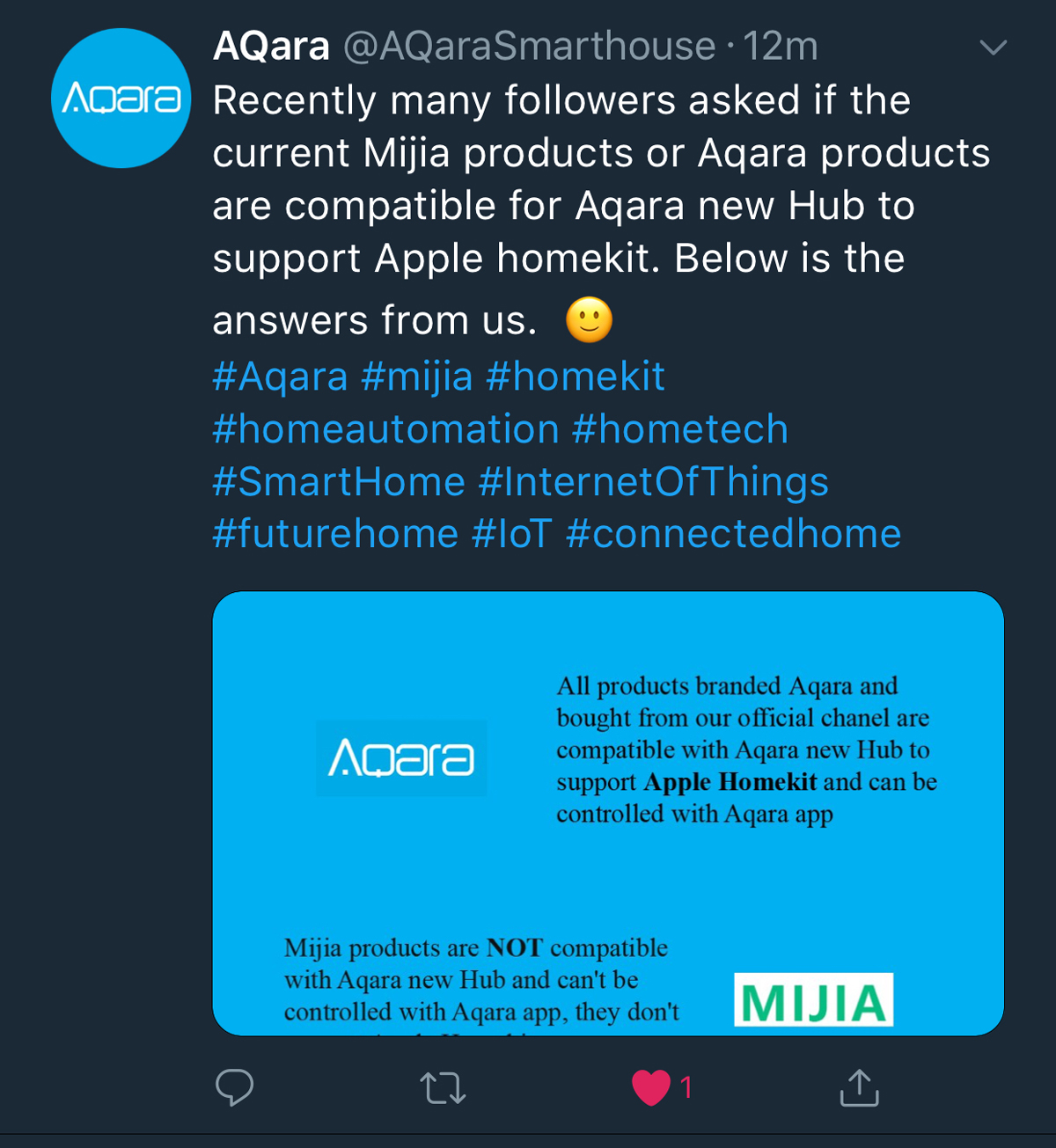 Homekit Compatible Hub Aqara Clarify Question Over Product Compatibility Updated