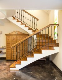 Forged Stair Railings: How to Fit Them in Different ...