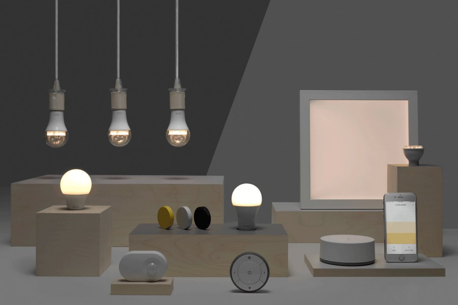 "Ikea Fairy Lights ""tradfri"": Ikea Launches A Collection Of Smart Home Lights"