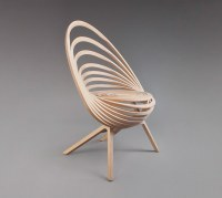 Octave Looping Plywood Chair by Estampille 52 - Homeli