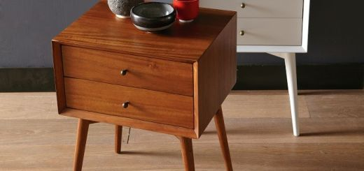Solid Oak Nightstand Furniture 1