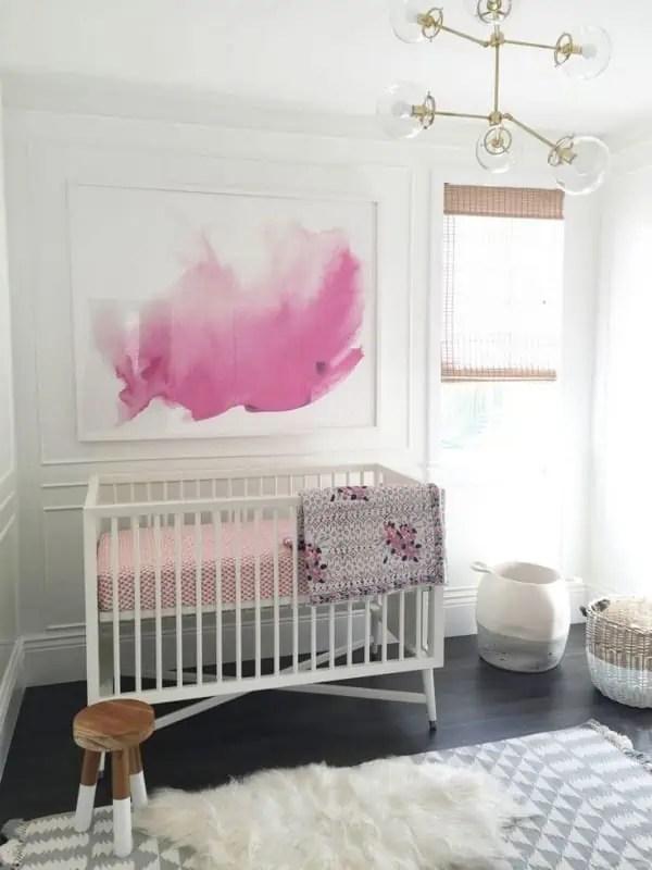 Chambre Bebe Fille Rose