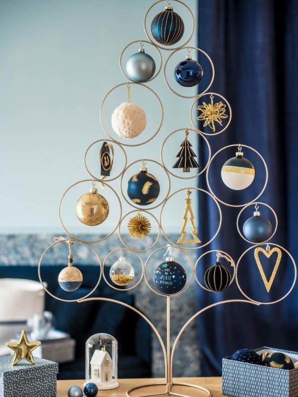 Suspension Verre Boule Maisons Du Monde : Catalogue Noël 2018 (déco, Sapin, Table