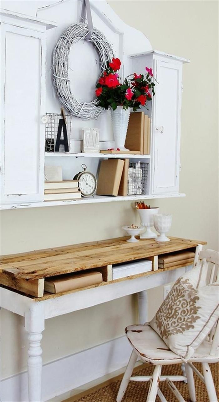 Diy Table Palette 19 Creative Diy Pallet Projects Homelovr
