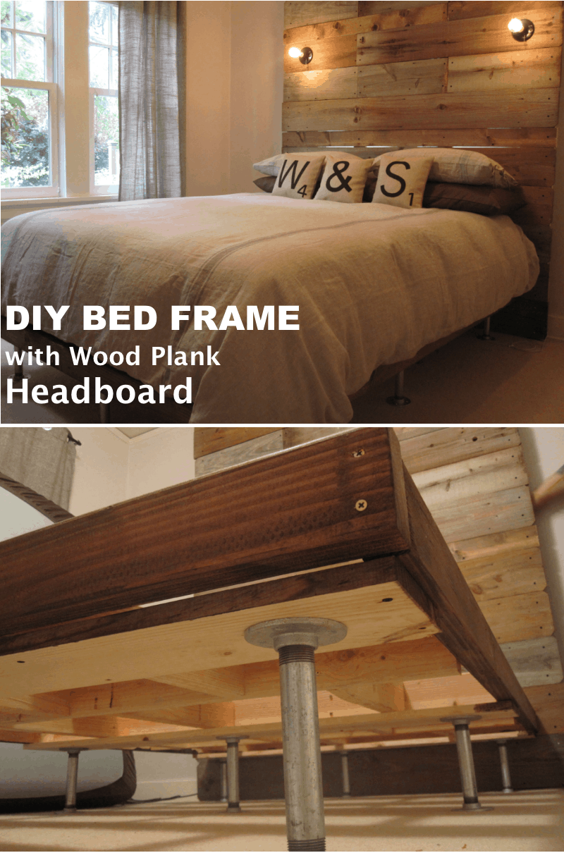 Diy Minimalist Bed Frame 36 Easy Diy Bed Frame Projects To Upgrade Your Bedroom Homelovr