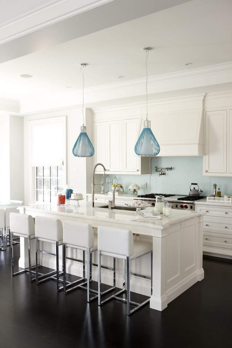 White Marble Island 200 Beautiful White Kitchen Design Ideas That Never Goes Out Of