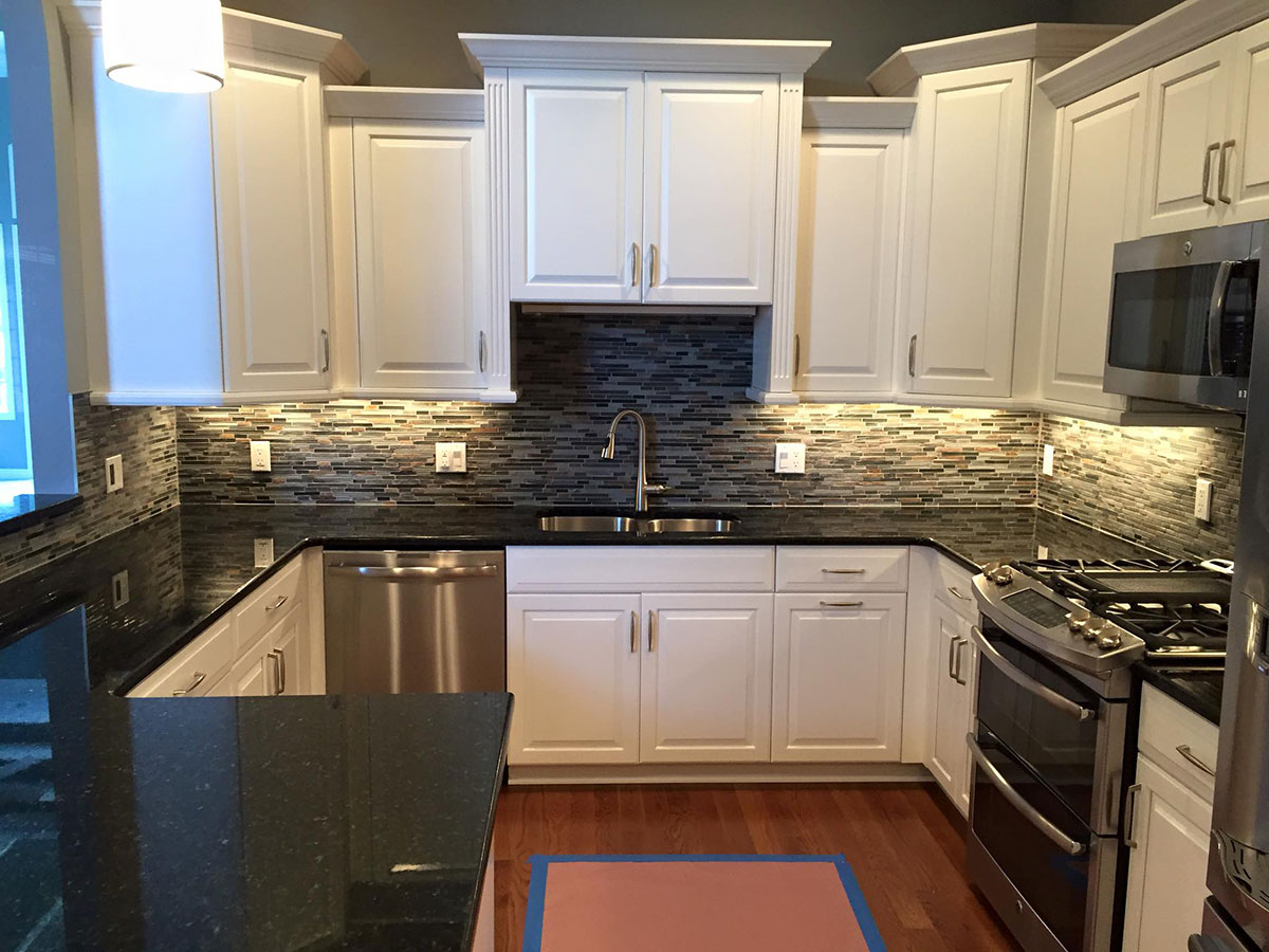 What Color Countertops Go With White Cabinets Uba Tuba Granite Countertops Pictures Cost Pros And Cons