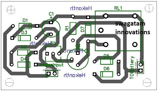 One Transistor Automatic Battery Charger Circuit Homemade Circuit