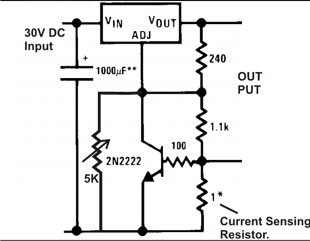 lm317 circuits projects 12