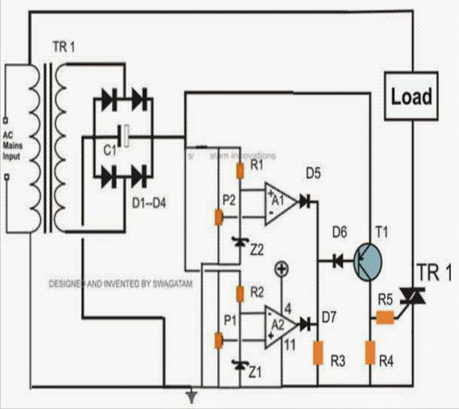 low voltage cut off circuit using ic 324 explained homemade circuit