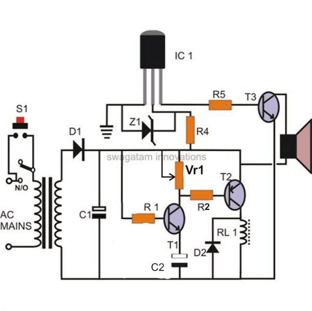 how to build a simple time delay circuit