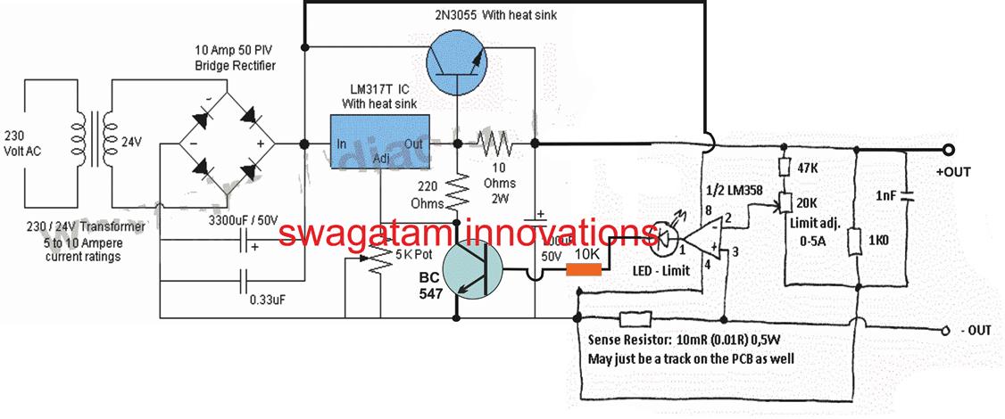 simple electrical circuit diagram