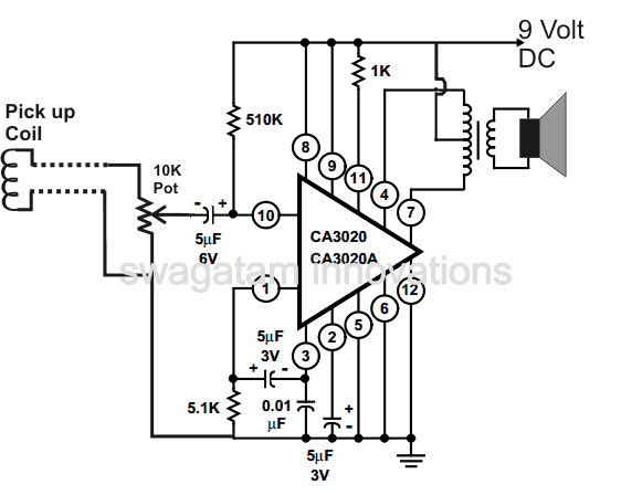 more audio amplifier circuits telephone circuits