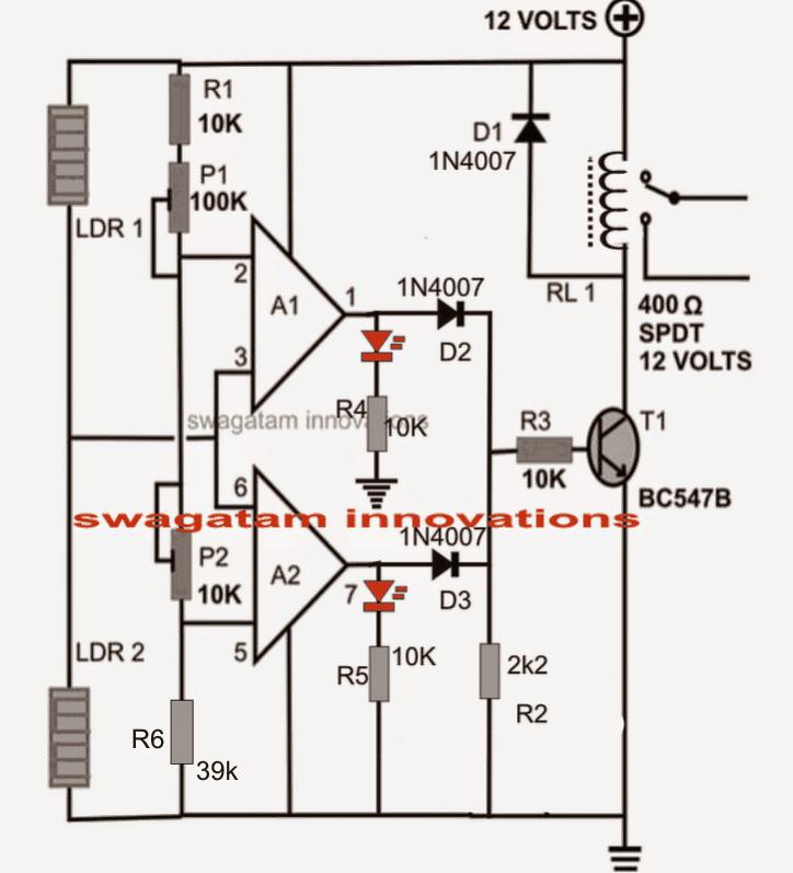 figure1 motion detector circuit