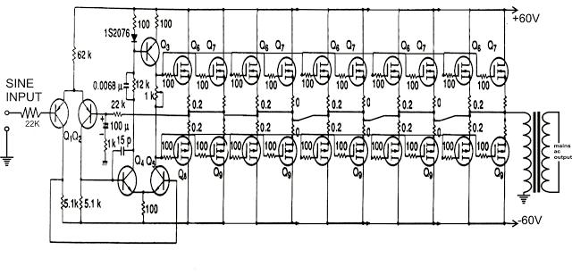 mosfet regulator circuit