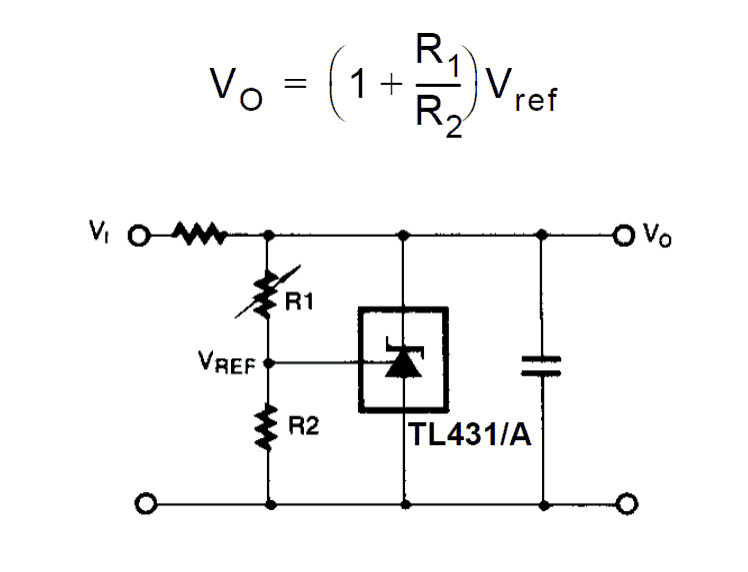 voltage detector by ic tl431