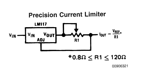 variable current limiting circuit