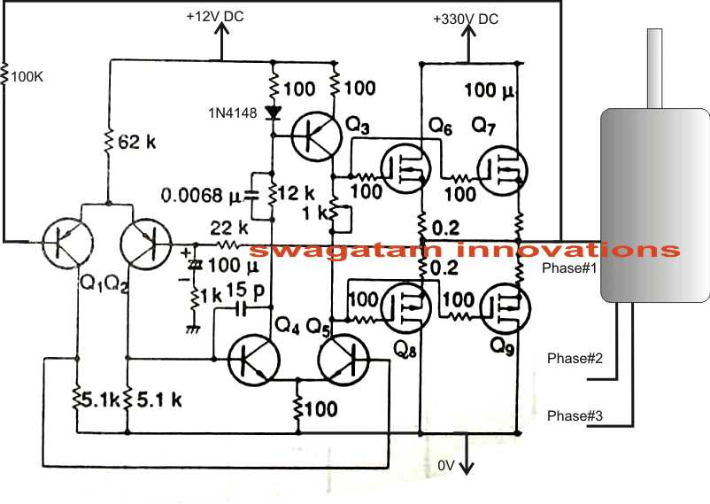 Make This 3 Phase Inverter Circuit Homemade Circuit
