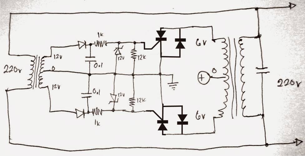 diy grid tie inverter schematic