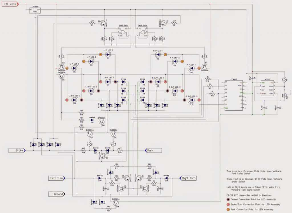 led turn signal schematic