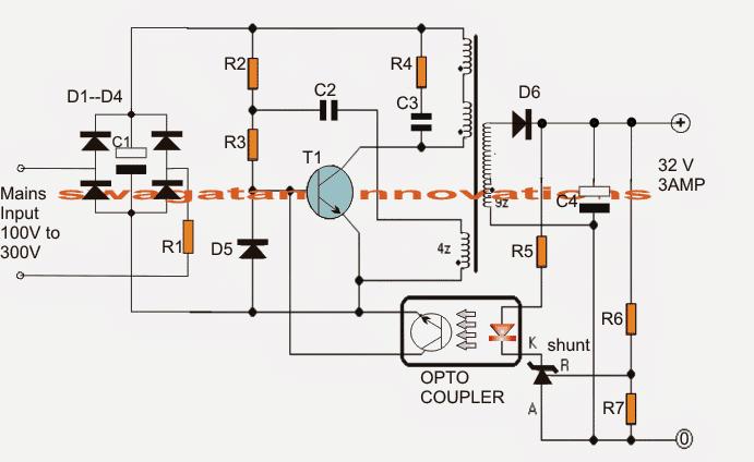 32 volt light wire schematic