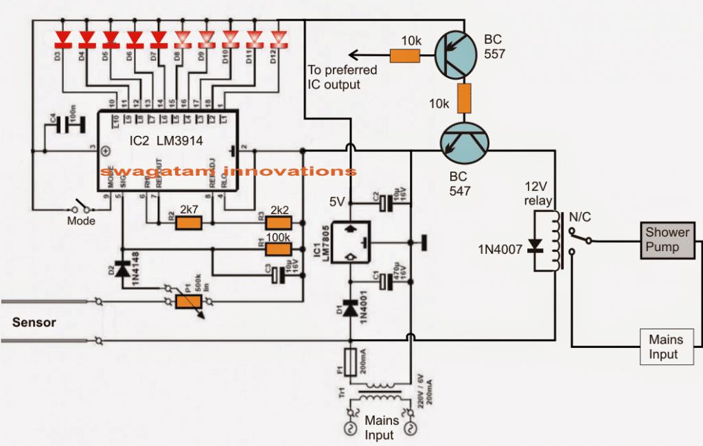 water relay diagram
