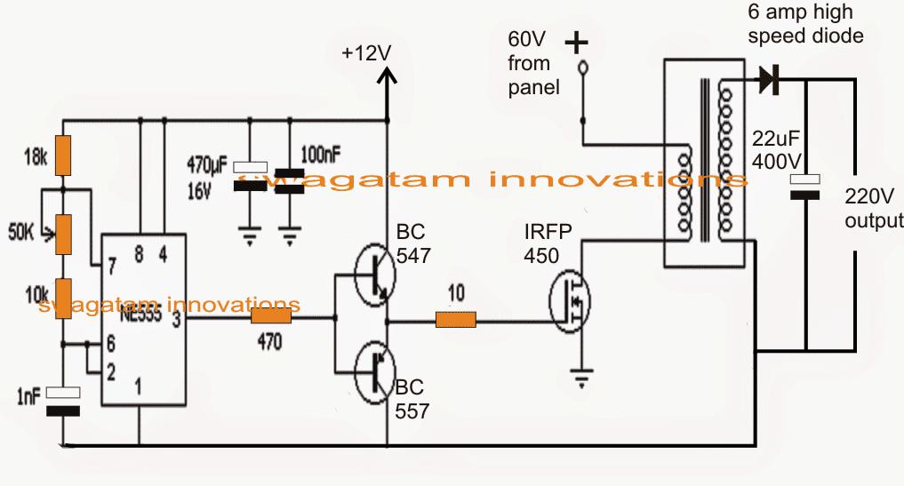 ac wiring diagram for 12v dc transformer