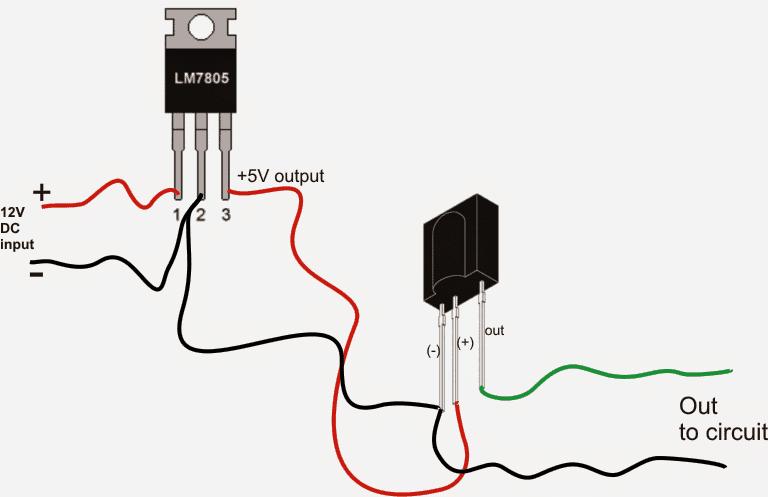 ir proximity sensor circuit diagram