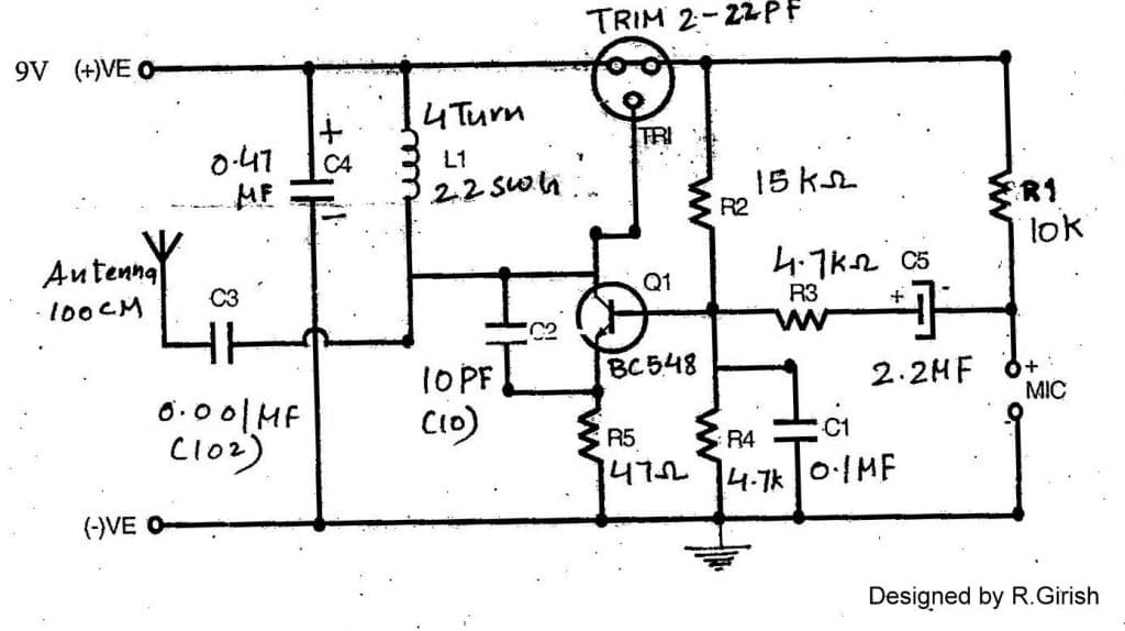 infrared repeaters receiver circuit diagram