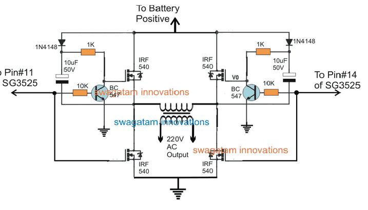 circuit diagram using transistor