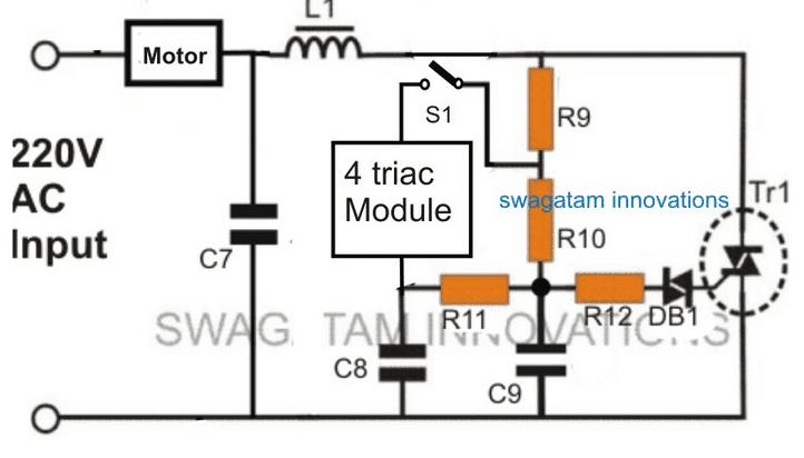 motor start circuit diagram