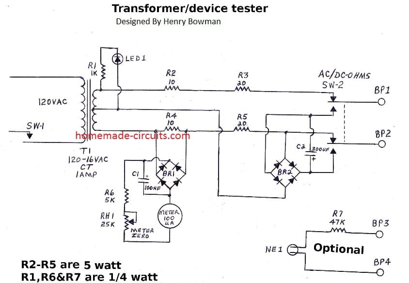 open and shorted circuits