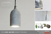 HomeMade Modern EP9 Concrete Pendant Lamp