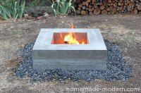 HomeMade Modern EP46 Concrete Fire Pit