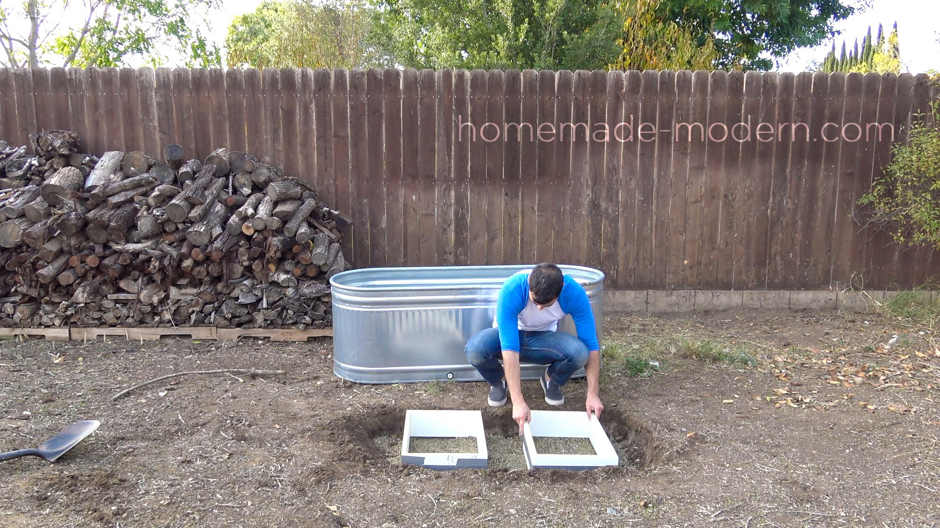 Diy Hot Tub Homemade Modern Ep112 Diy Wood Fired Hot Tub