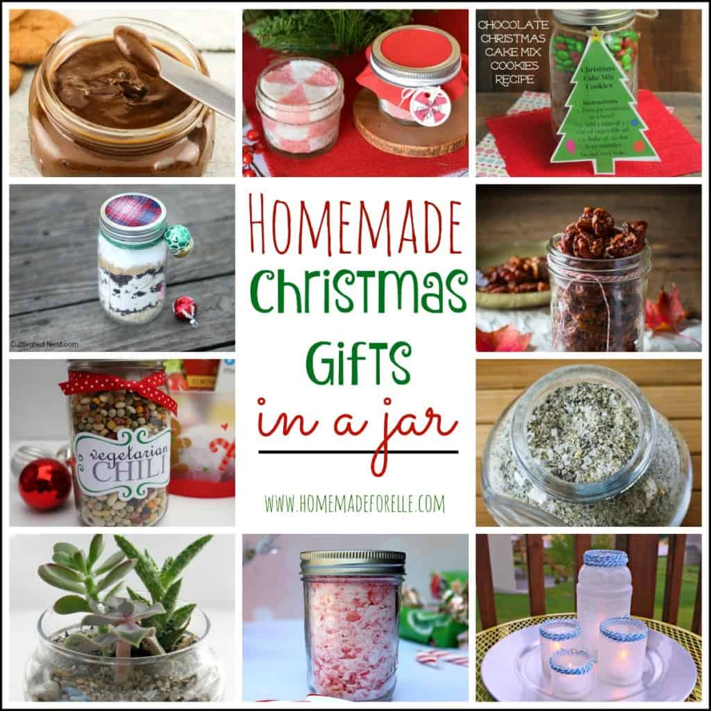Christmas Homemade Gifts 22 Homemade Christmas Gifts In A Jar Homemade For Elle
