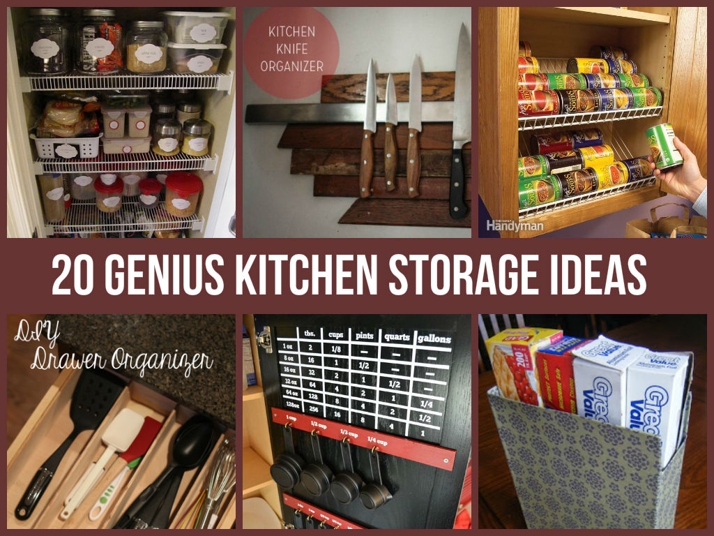 Kitchen Organizer Storage 20 Genius Kitchen Storage Ideas