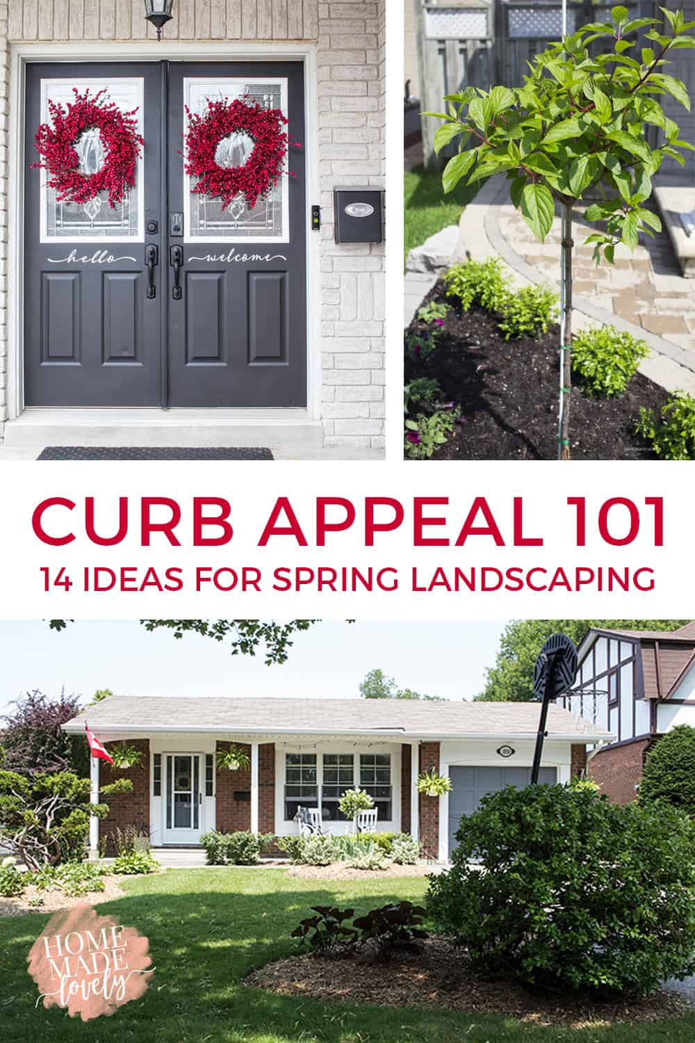 Lovable Wher Preparing To Sell Your Or You Just Want To Improve Curb Appeal Ideas Spring Landscaping Re Landscaping Front Yard Re Landscaping My Yard outdoor Re Landscaping Yard