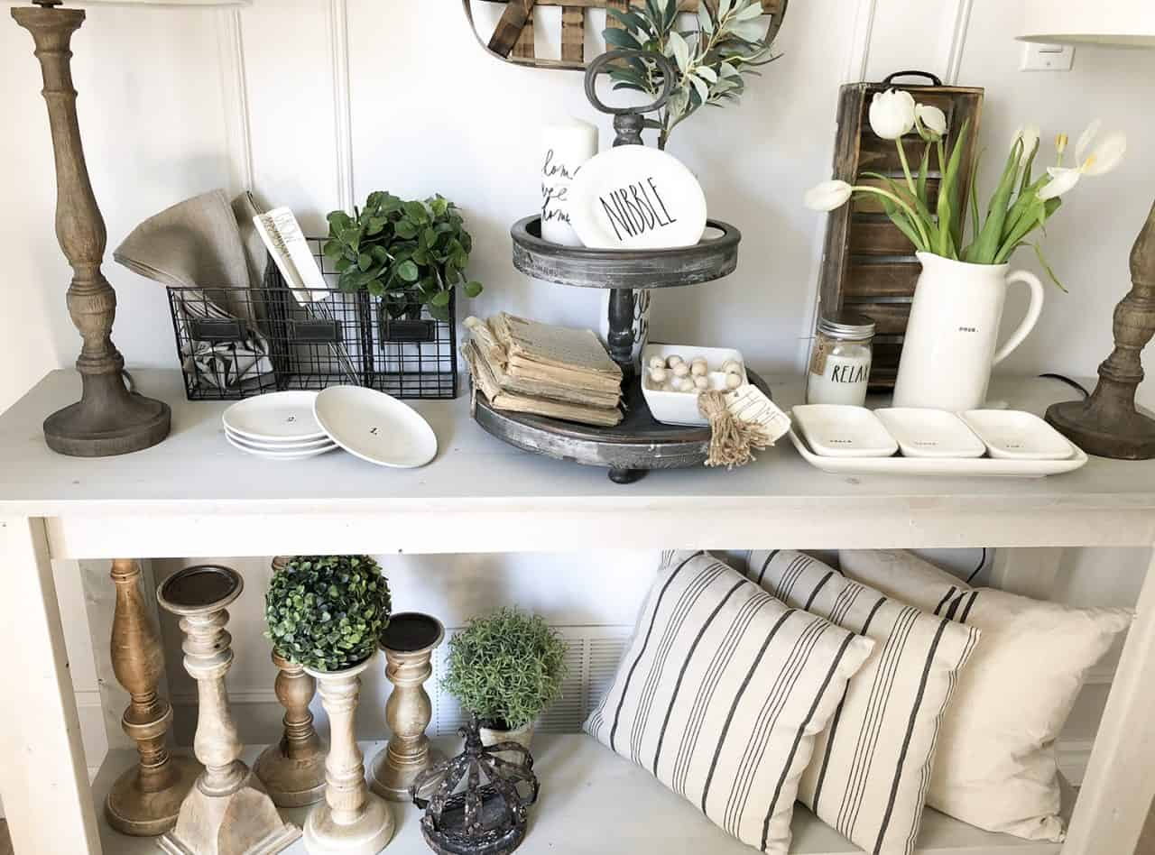 Decorating Ideas Dining Table Summer Vignettes In Our Farmhouse Dining Room