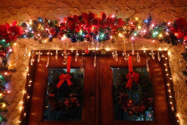Homemade Parties Christmas House37
