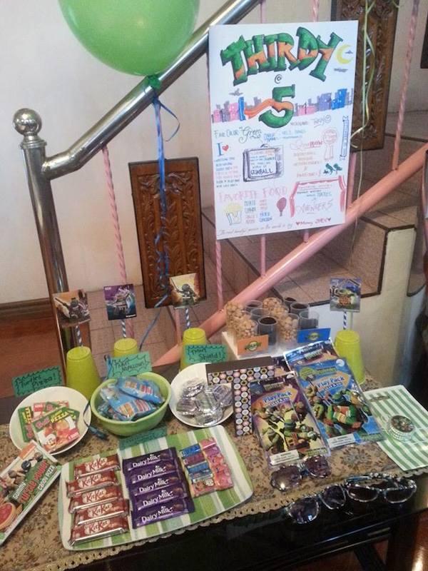 Homemade Parties DIY Party_Teenage Mutant Ninja Turtles Party_Thirdy21