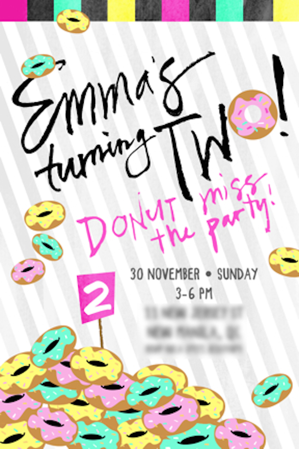 Homemade Parties_DIY Party_Donut Party_Emma01