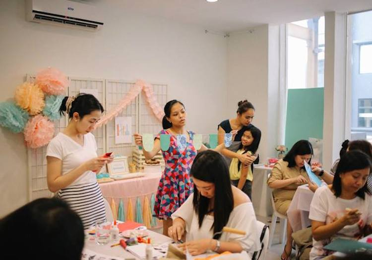 Homemade Parties_DIY Party_CRAFT PARTY27